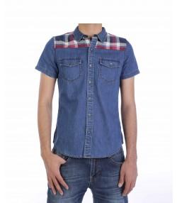 پیراهن آستین کوتاه مردانه بالنو