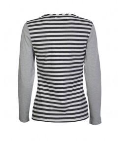 تي شرت آستين بلند زنانه  ساموئل اند کوین