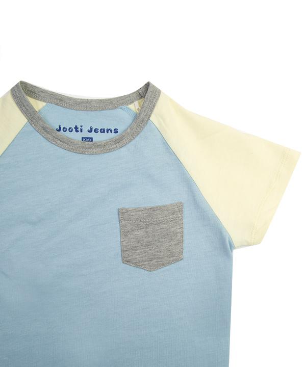 تیشرت پسرانه یقه گرد جوتی جینز JootiJeans کد 81073114