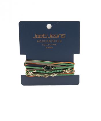 دستبند زنانه چند دورجوتی جینز Jootijeans