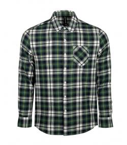 پیراهن مردانه چهارخانه آستین بلند جین وست Jeanswest