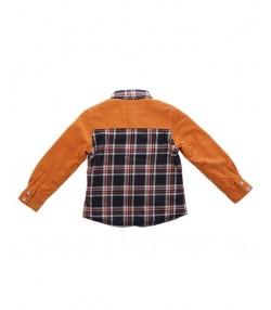 پیراهن مخمل کبریتی نارنجی