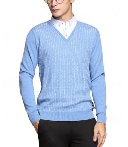پلیور مردانه آبی