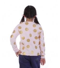 تی شرت آستین بلند دخترانه جین وست