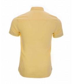 پیراهن آکسفورد زرد