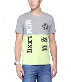 تی شرت  دو رنگ مردانه جین وست