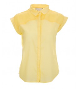 شومیز زنانه زرد