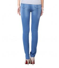 شلوار جین زنانه جین وست آبی