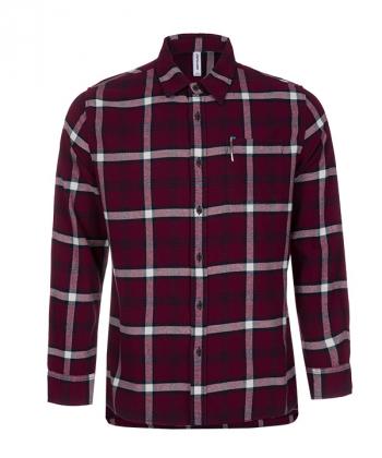 پیراهن آستین بلند چهارخانه مردانه جین وست Jeanswest