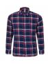 پیراهن آستین بلند چهارخانه جیب دار مردانه جین وست Jeanswest