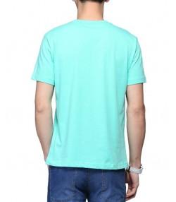 تیشرت مردانه سبز آبی