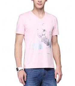تی شرت یقه هفت مردانه جین وست