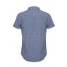 پیراهن مردانه مدل آستین کوتاه آبی