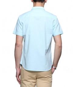 پیراهن آکسفورد مردانه سبز