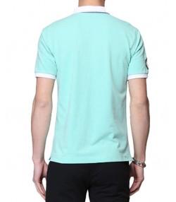 پولوشرت مردانه سبز آبی