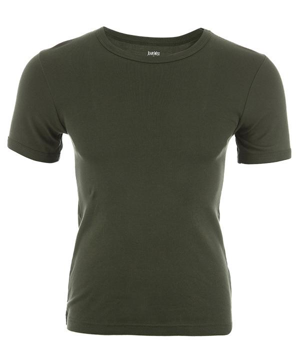 زیرپوش آستین کوتاه مردانه نخی جین وست