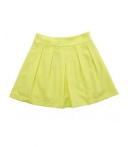 دامن کوتاه زرد