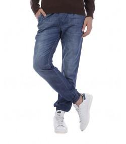 شلوار جین جاگر آبی