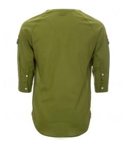 پیراهن مردانه زیتونی