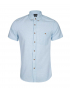 نمای کامل پیراهن مردانه چهارخانه ریز جوتی جینز بای جین وست