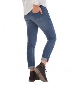 شلوار جین زنانه آبی تیره
