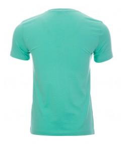 تیشرت طرح مخملی مردانه سبز