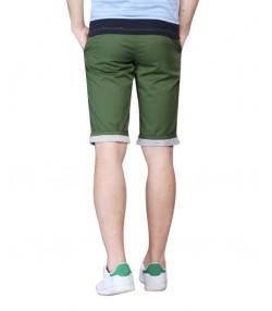 شلوارک کتان مردانه سبز