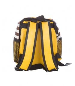 کوله پشتی بچگانه طرح توپی به رنگ زرد