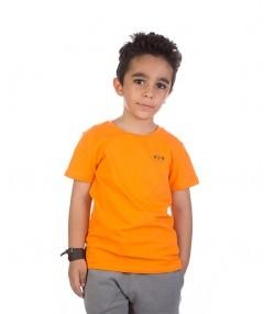 تیشرت بچگانه به رنگ نارنجی