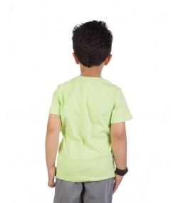 تیشرت بچگانه سبز روشن