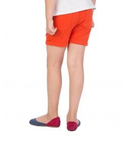 شلوارک نارنجی دخترانه جین وست