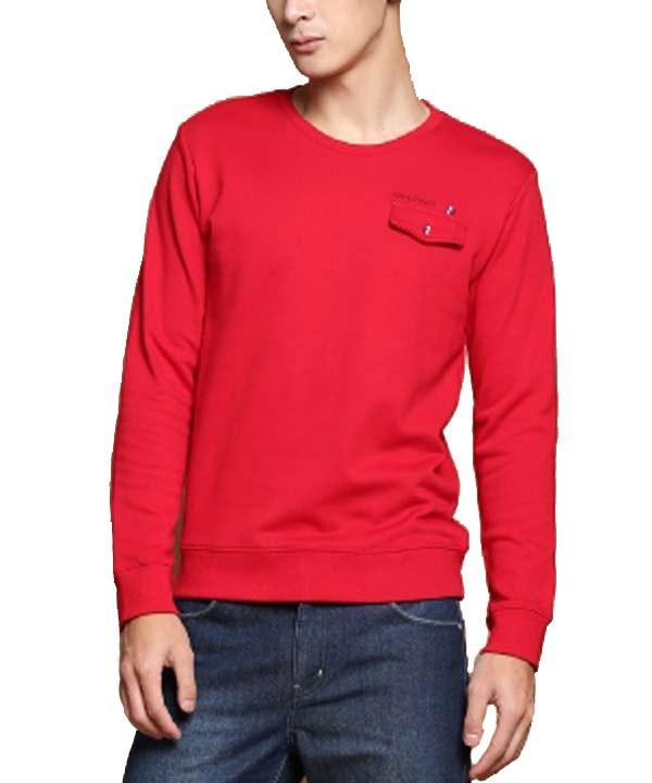 تیشرت آستین بلند مردانه قرمز