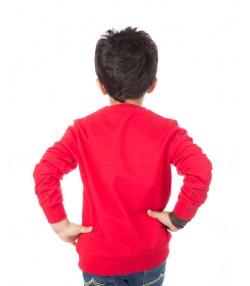 تیشرت طرح ماهی پسرانه قرمز
