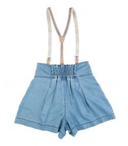 دامن شلوارک زنانه آبی جین وست