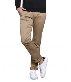 شلوار مردانه خاکی جین وست