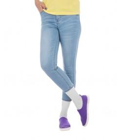 شلوار جین زنانه آبی روشن