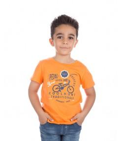 تی شرت پسرانه نارنجی