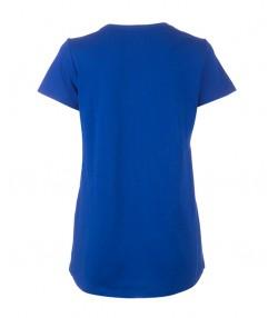 تی شرت زنانه آبی جین وست