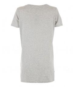 تی شرت بلند زنانه طوسی
