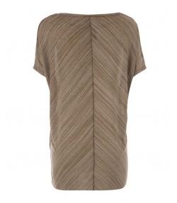 تی شرت زنانه قهوه ای جوتی جینز