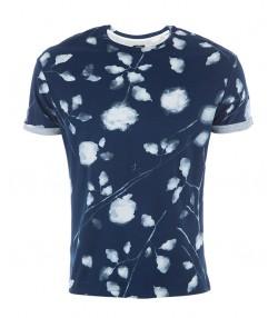 تی شرت مردانه سرمه ای جوتی جینز