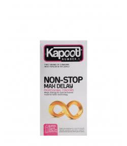 کاندوم تاخیری کاپوت Kapoot مدل Non Stop بسته 10 عددی