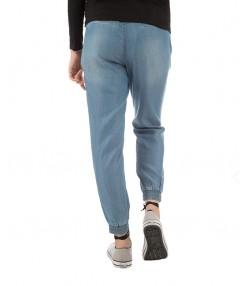 شلوار جین نازک زنانه آبی