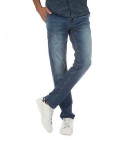 شلوار جین مردانه آبی تیره بالنو