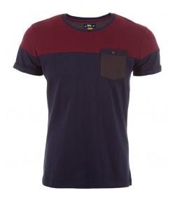 تی شرت دو رنگ مردانه جوتی جینز