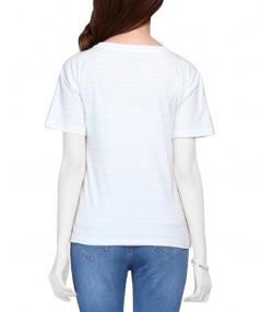 تی شرت راه راه زنانه جین وست