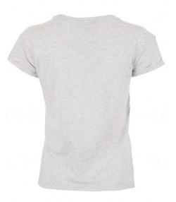 تی شرت زنانه طوسی جین وست