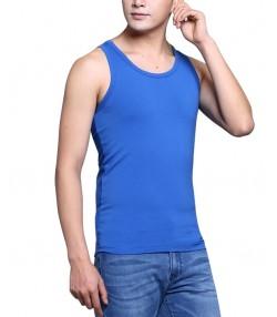 رکابی نخی مردانه آبی جین وست