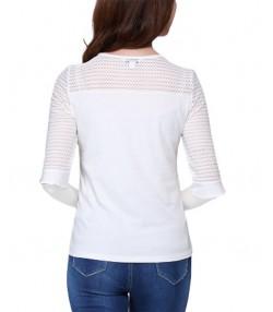 تی شرت آستین سه ربع زنانه