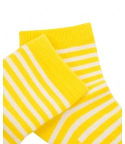 جوراب پسرانه زرد جین وست